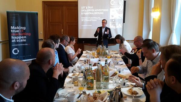 Conversant Business Breakfast Künstlerhaus